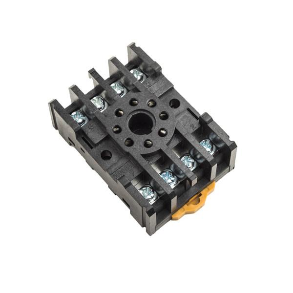 din rail relay socket